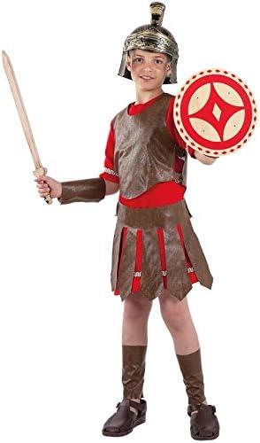 DISBACANAL Disfraz Romano Guerrero Infantil - -, 10 años: Amazon ...
