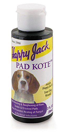 Happy Jack 2 Oz Pad Kote to Relief Itching and Irritation While Cleaning Skin and Coat Coat Pad