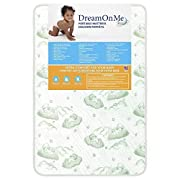 Dream On Me Breathable Two-Sided Square Corner Play Yard Foam Mattress, 3 Inch