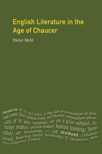 English Literature in the Age of Chaucer (Longman Literature In English Series)