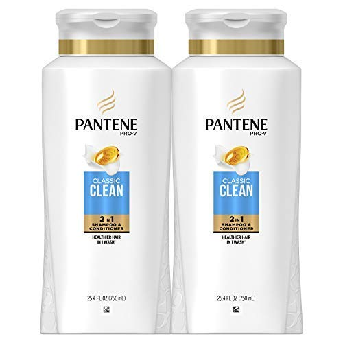 Pantene, Shampoo and Conditioner 2 in 1, Pro-V Classic Clean, 25.4