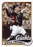 2015 Topps Archives Will Ferrell #WF-8 Will Ferrell Baseball Card - San Francisco Giants