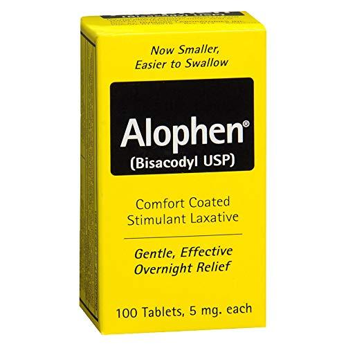 Alophen Tablets 100 Tablets (Pack of 3) by Alophen