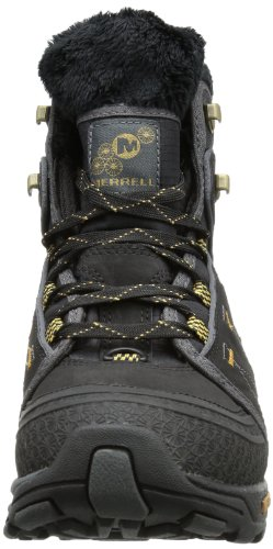 Merrell Snowfury Waterproof Womens Boots- Black-7.5 Black (Black) H8meWrsD