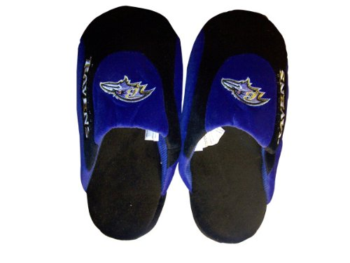 Pro NFL Womens Mens Low Comfy Ravens Happy Licensed Feet Officially Baltimore Slippers and Low Pro Feet xHq80wTqZ