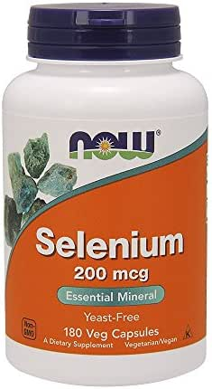 Foods Selenium 200 mcg Vcaps FamilyValue 3Packs (180Count) IFC#Now