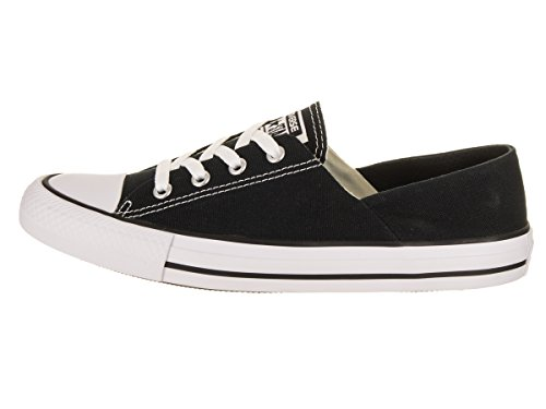 Converse Womens Chuck Taylor All Star Coral Ox Sneaker Nero / Bianco