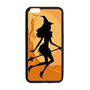 """Halloween Cat Sexy Witch On Broom Custom Case for iPhone6 4.7"""""""