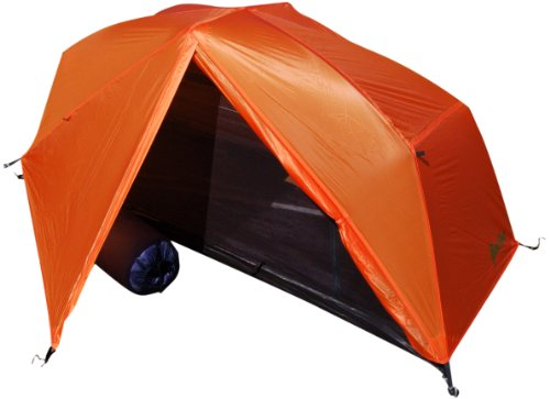 Paha Que Wilderness Bear Creek Solo 1 Person Backpacking Tent (BurntOrange, 84 x 32 x 36-Inch), Outdoor Stuffs