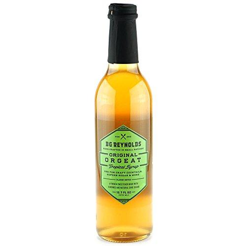 BG Reynolds Original Orgeat Syrup (375ml, 1 Bottle)