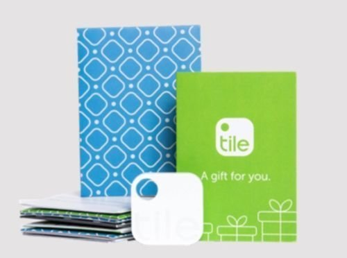 Tile  Gen 2  Bluetooth Phone Finder Key Finder Tracker With Gift Pouch   New   Find Your Phone  Simply Press Tile To Make Your Lost Phone Ring Even If Its On Silent