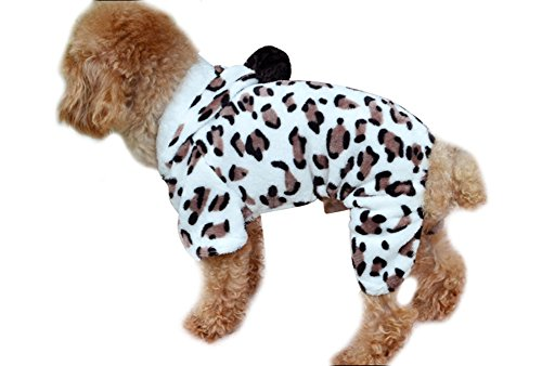 Freerun Adorable Dog Coat for Dog Hoodie Dog Clothes Soft Cozy Pet Clothes Pet Coat - M