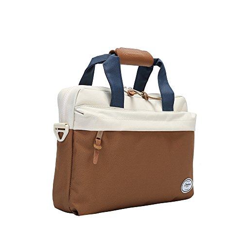 Rawboe 13.3 Laptop Bag Durable Lightweight Twill Polyester c