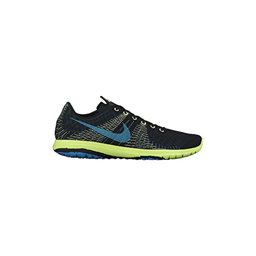 Scarpe Da Corsa Nike Fury Flex Fury Nero / Volt / Blu Stratus / Blu Laguna