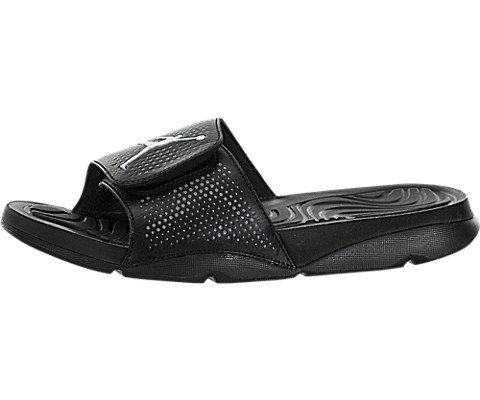 5aaa529df8b8 NIKE Men s Jordan Hydro 5 Sandal Black White-Cool Grey Size 12 M US - Buy  Online in Oman.