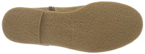 s.Oliver 26421, Botines para Mujer Marrón (CAMEL COMB 327)