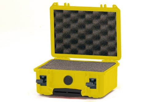 HPRC 2100F Hard Case with Cubed Foam (Yellow)