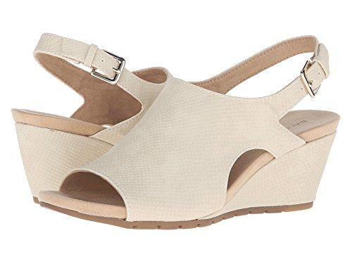 Bandolino Womens Galatee Open Toe Formal Platform Sandals, Natural, Size 5.5
