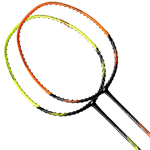 Yonex 2018 New Nanoray Ace Badminton Strung Racket (Black Lime)