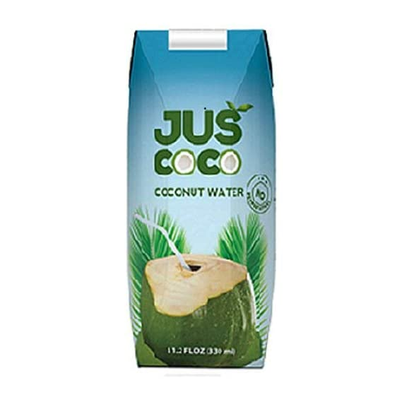 Juscoco Coconut Water 330ml (Pack of 24)