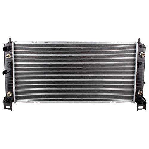 BOXI Radiator Replacement Assembly for 2002-2014 Cadillac Escalade/Chevrolet Avalanche Silverado Suburban Tahoe/GMC Sierra Yukon/Hummer H2 (4.3L 4.8L 5.3L 6.0L 6.2L V8) Replaces CU2370 15124631