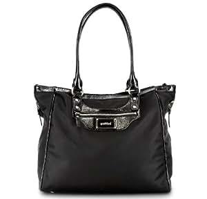 Betsy OOYOO Black Noir Modern Diaper Bag