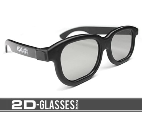 2D-Glasses: Turns 3D movies back!