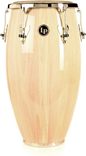 Latin Percussion LP Matador 12-1/2'' Wood Tumbadora - Natural/Gold Tone by Latin Percussion