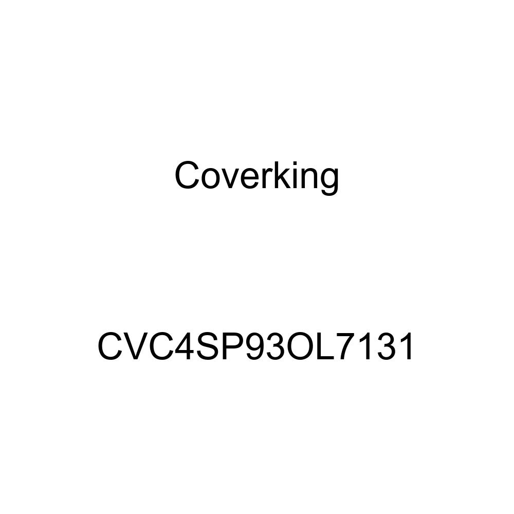 Coverking Custom Fit Car Cover for Select Oldsmobile Cutlass Calais Models Yellow CVC4SP93OL7131 Stormproof