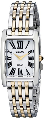 (Seiko Women's SUP268 Two-Tone Stainless Steel Watch)
