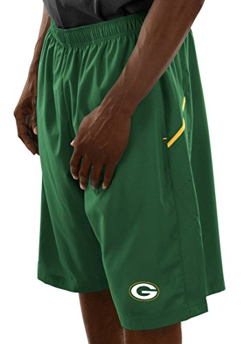 Majestic Green Bay Packers NFL Cut Above Men's Synthetic Shorts by Majestic