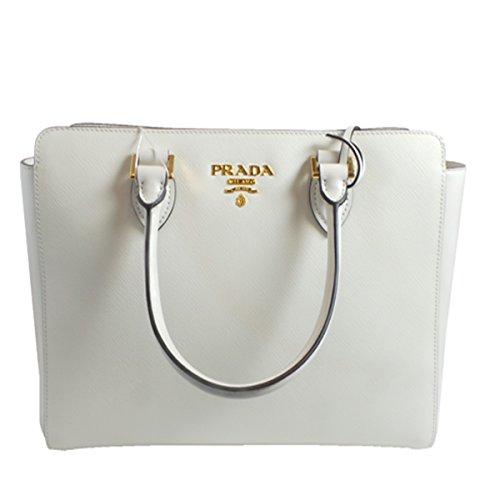 763a92468102cf Prada Ivory Baltico Saffiano Leather Bag 1BA189
