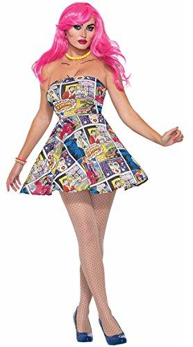 Pop Art Girl Costume (Forum Novelties 76718 Pop Art Dress (uk)