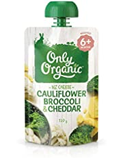 Only Organic Cauliflower Broccoli & Cheddar 6+ Months - 120g