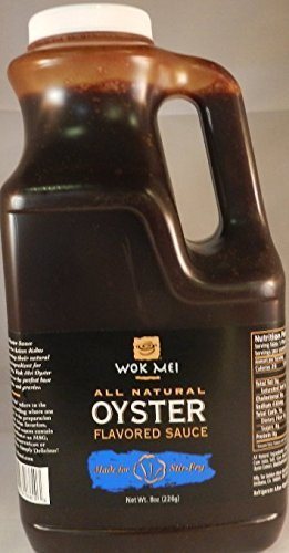 Wok Mei All Natural Gluten Free Oyster Sauce, 56 oz