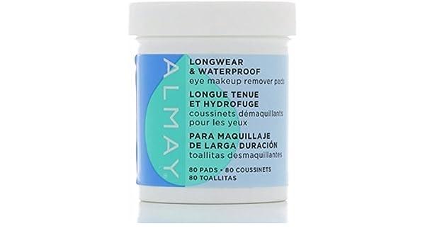 Amazon.com : Almay Eye Makeup Remover Pads, Longwear & Waterproof 80 ea by Almay : Beauty