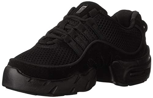 Bloch Women's Boost Mesh Dance Sneaker S0538L, Black, 8.5 X(Medium) US
