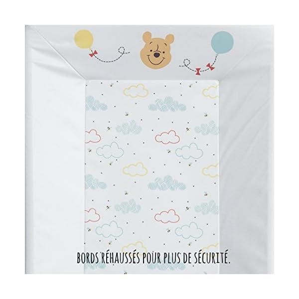 BabyCalin DIS510801 Mat Wechseln, 50cm x 70cm, Disney Winnie Hallo Funshine, mehrfarbig, 1 Stück, DISNEY BABY 3