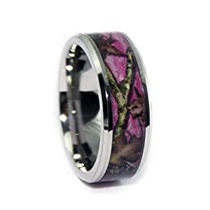 pink camo wedding rings by 1 camo pink camo promise