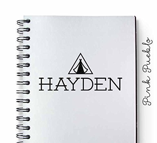 Tent Design Stamp made our list of personalized camping gifts for people who camp in tents and those who have RV campers!