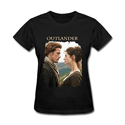 JuDian Outlander Tv Show Poster T shirt For Women