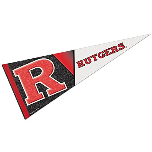WinCraft Rutgers Scarlet Knights Official NCAA Wall Pennant Premium by 648303 by WinCraft