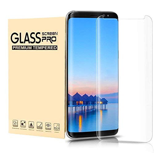 Samsung Galaxy S8 Plus Tempered Glass Screen Protector, Wtbone - 9H Hardness,Anti-Fingerprint,Anti-Scratch,Ultra-Clear,Bubble Free Screen Protector for Galaxy S8 Plus