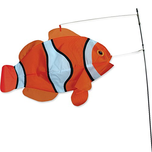 Flag Kite - Swimming Fish - Clown Fish