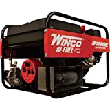 Winco Portable Dual Fuel Generator - 6000 Surge Watts, 5500 Rated...