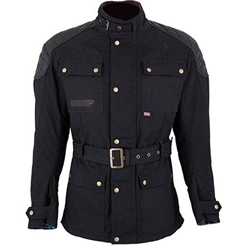 Waxed Cotton Motorcycle Jacket - 9