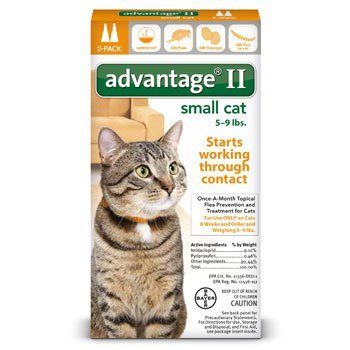 Advantage II Small Cat 2-Pack 41MdUxPYLmL