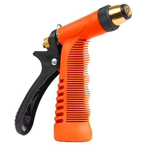 Nozzle Royal - Royal Brands High Pressure Garden Hose Brass Nozzle Heavy Duty Water Nozzle Pistol Nozzle Slip Resistant Cleaning Car Washing Pressure Washing