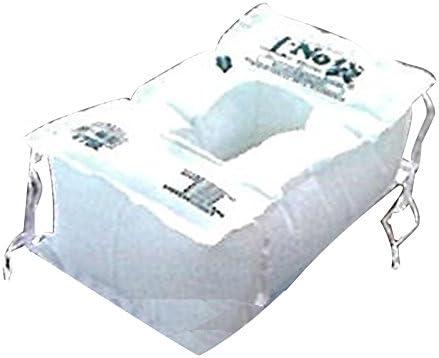 【50枚入】 水で膨らむ 緊急用 土嚢 土のう 土NO袋 #732 新箱型 素早く 簡単 丸和ケミカル 三富代不