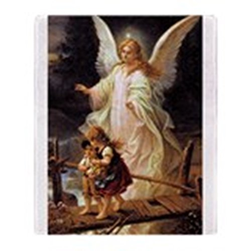 Angel Throw (CafePress - Guardian Angel - Soft Fleece Throw Blanket, 50